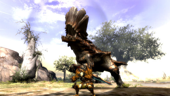 Monster Hunter 3 Ultimate - Barroth